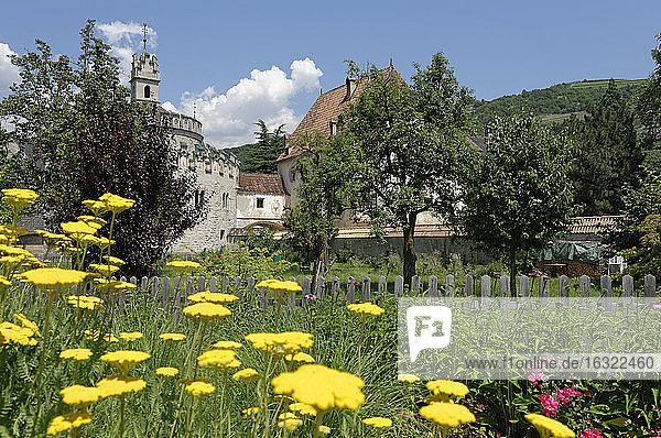 Italy  Alto Adige  Monastery Neustift near Brixen  Augustinian monastery  St Michael's Chapel