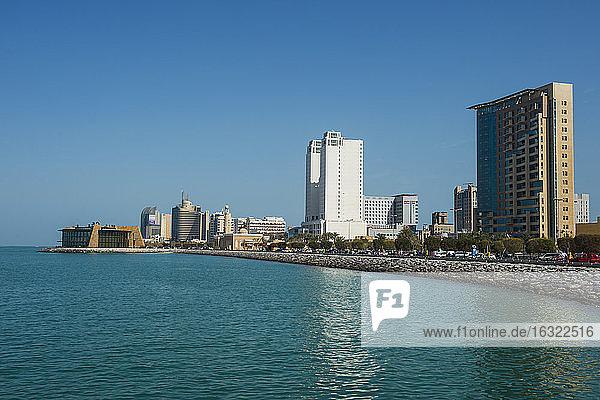 Arabia  Kuwait  Kuwait City  seafront