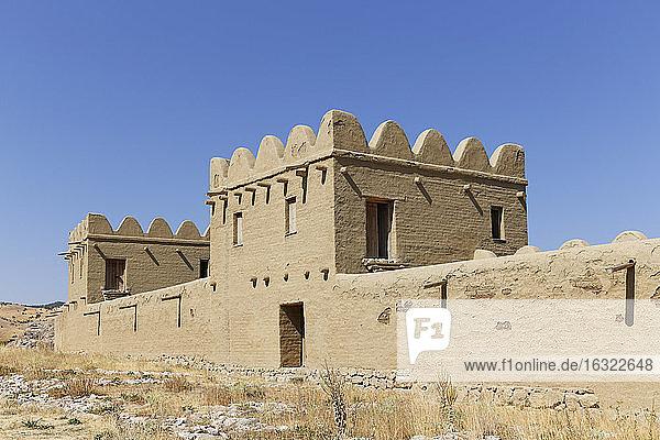 Turkey  Bogazkale  Hittites site Hattusa  reconstruted surrounding wall
