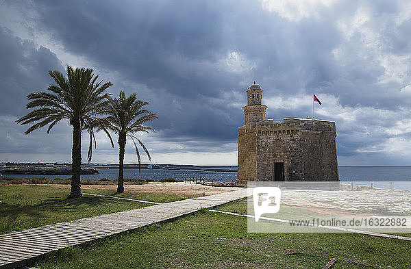 Spain  Menorca  Ciudadela  Sant Nicolau castle
