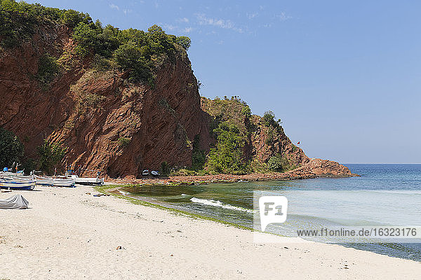Turkey  Black Sea  beach in Cakraz