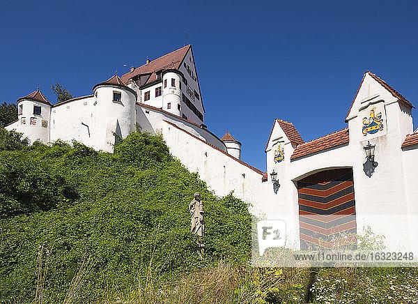 Germany  Leipheim  view to Schloss Leipheim