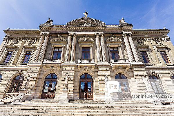 Switzerland  Geneva  Place Neuve  Opera House