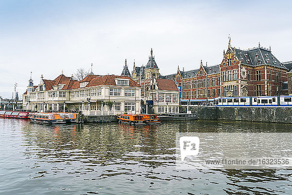 Netherlands  Holland  Amsterdam  Central station  Amsterdam Centraal