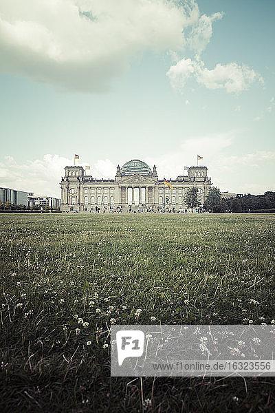 Germany  Berlin  Berlin-Tiergarten  Reichstag building