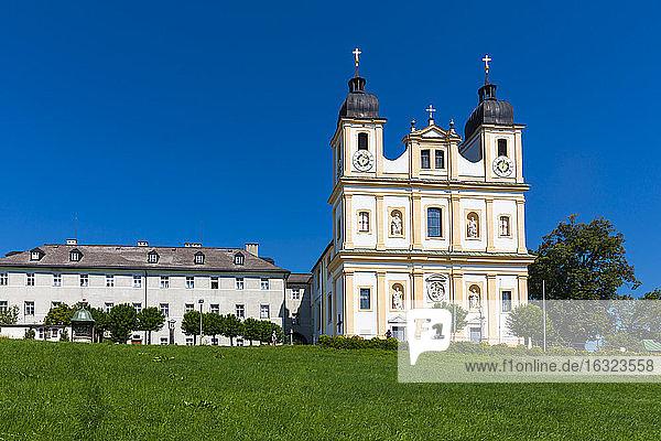 Austria  Salzburg State  Flachgau  pilgrimage church of Maria Plain