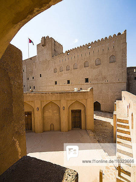 Oman  Jabreen  view of Jabreen Palace