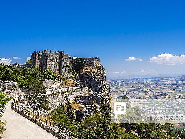 Italy  Sicily  Province of Trapani  Erice  Castello di Venere