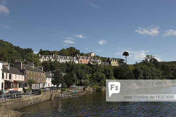 UK  Scotland  Isle of Skye  Portree