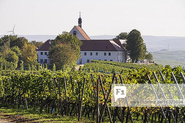 Germany  Lower Franconia  Vogelsburg Castle