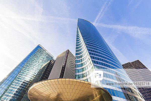 France  Paris  La Defense  modern office towers