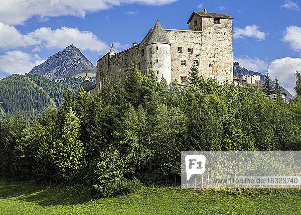 Austria  Tyrol  Nauders  Naudersberg Castle