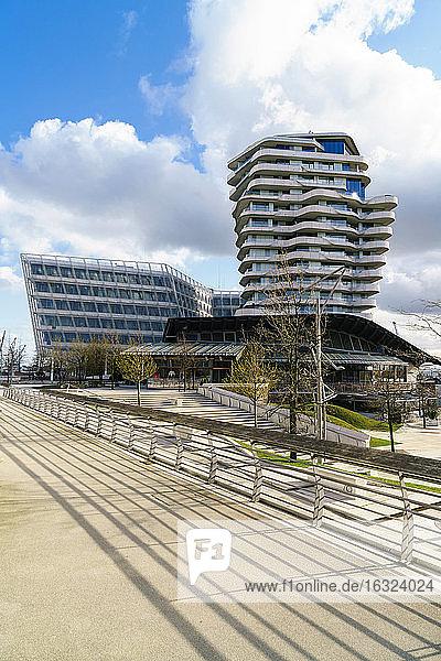 Germany  Hamburg  Hafencity  Unilever headquarter
