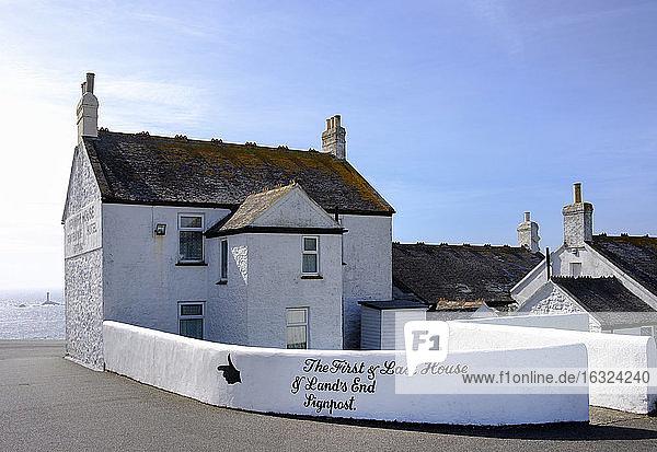 UK  England  Cornwall  Land's End  Penwith House