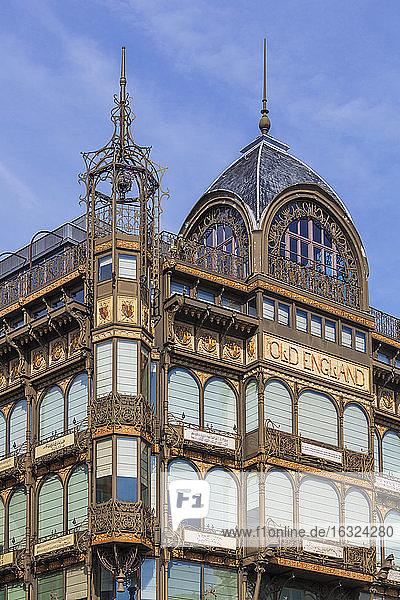 Belgium  Brussels  view to Musee des instruments de musique