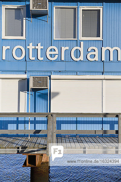 Netherlands  Rotterdam  container office construction