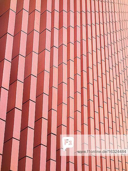 Belgium  West Flanders  Bruges  Concertgebouw  Red facade