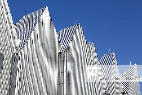 Poland  Szczecin  gables of Szczecin Philharmonic