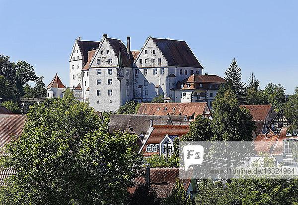 Germany  Baden-Wuerttemberg  Scheer Castle