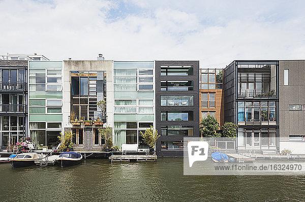 Netherlands  County of Holland  Amsterdam  Borneo Island  Scheepstimmermannstraat  Terraced houses