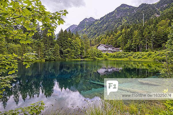 Germany  Allgaeu  Lake Christlessee