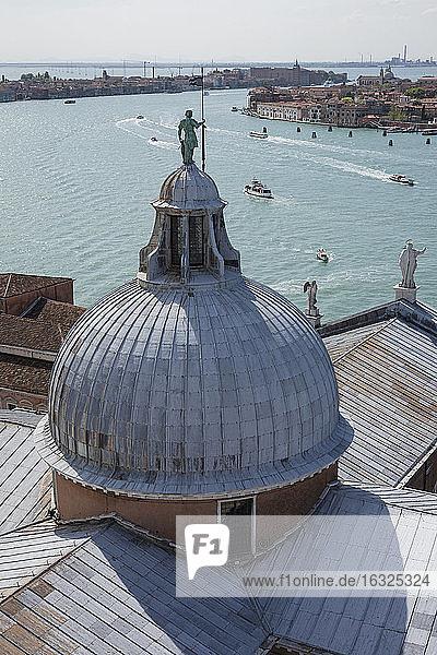 Italy  Venice  View to San Marco's place from San Giorgio Maggiore