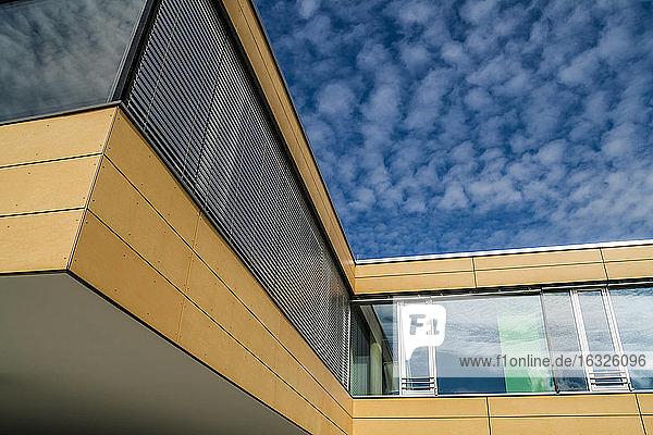 Germany  Munich  Gruenwald  Secondary school  facade