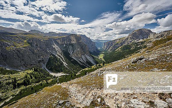 Langental  Dolomiten  Südtirol  Italien  Europa