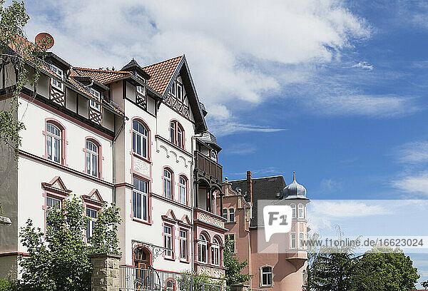 Germany  Thuringia  Eisenach  Historical villas inPredigerberg/Hainsteinquarter