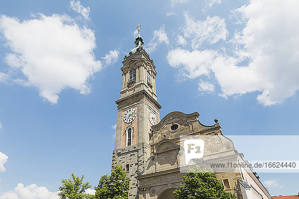 Germany  Thuringia  Eisenach  Bell tower of Saint Georges Church