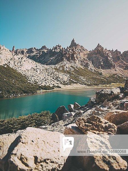 Landscape around Argentina during summer 2020