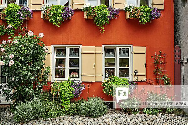 Altstadt von Dinkelsbühl  Mittelfranken  Bayern  Deutschland  old town of Dinkelsbuhl  Central Franconia  Bavaria  Germany 