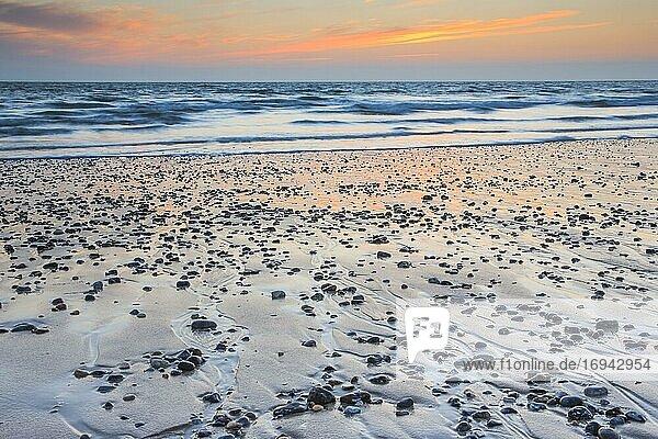 Strand auf Insel Düne  Helgoland  Deutschland  Europa