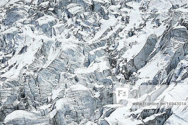 Fee glacier  Saas Fee  Wallis  Switzerland