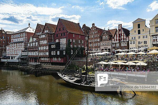 Stintmarkt  Lüneburg  Niedersachsen  Deutschland  Europa
