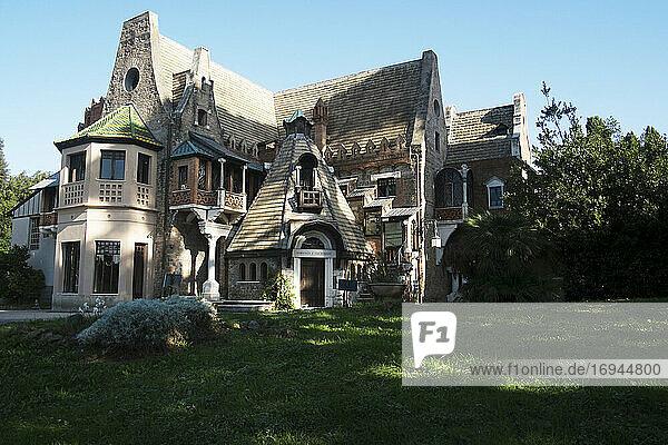 Das Haus der Fee (Villa Torlonia)  Rom  Latium  Italien  Europa