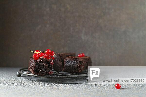 Brownies mit Johannisbeeren