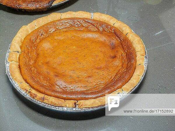 Pumpkin pie is a dessert pie with a spiced  pumpkin-based custard filling. The pumpkin is a symbol of harvest time  and pumpkin pie is generally eaten during the fall and early winter. In the United States and Canada  it is usually prepared for Thanksgiving.