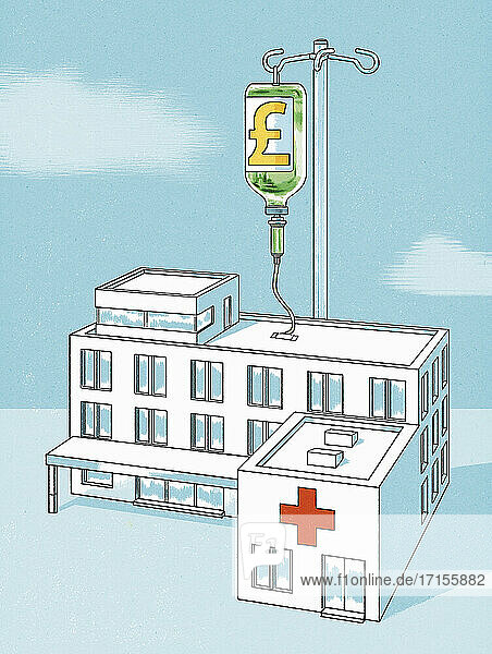 Krankenhaus erhält Pfund-Infusion