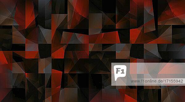 Dunkles abstraktes unregelmäßiges geometrisches Muster