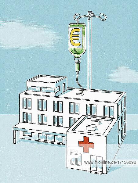 Krankenhaus erhält Euro-Infusion