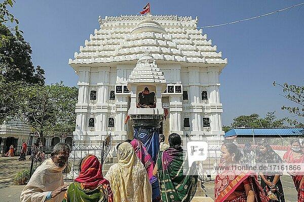 Koraput  India People visiting the Jagannath Temple in Koraput  Odisha  India.