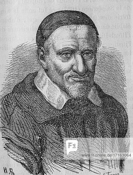 Saint vincent de paul  popular history of frrance by henri martin  editor furne 1860.