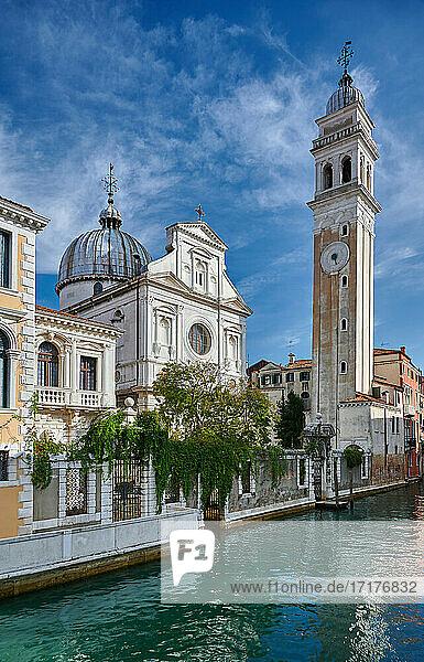 Kirche Chiesa di San Giorgio dei Greci  Venedig  Venetien  Italien  church Chiesa di San Giorgio dei Greci  Venice  Veneto  Italy 