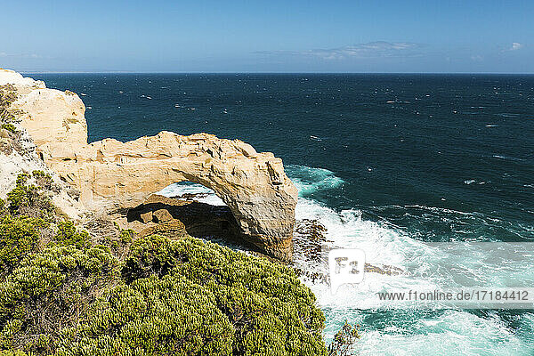 The Arch and Southern Ocean  Port Campbell National Park  Port Campbell  Victoria  Australia  Pacific
