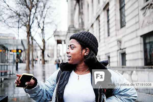 Portrait Of Stylish African Woman