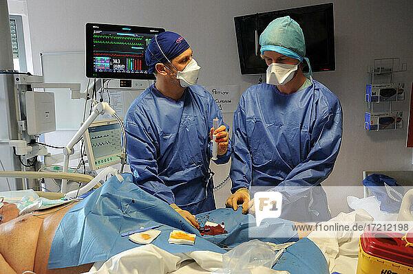 Medizinische Intensivstation Medizinische Intensivstation