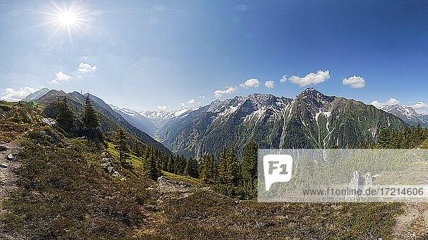 Oesterreich  Tirol  Zillertal  Mayrhofen  Ahorn  Austria  Tyrol  Ziller - Valley