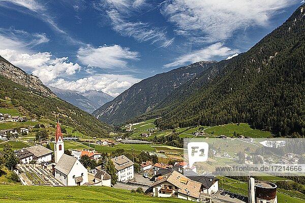 Italien; Suedtirol; Provinz Bozen; Vinschgau;Martelltal| Italy; Italia; Alto Adige; South Tyrol; Val Venosta; valley; Val Martello  valley