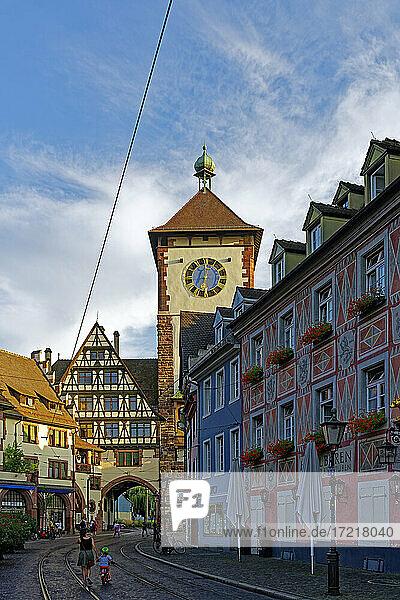 Schwabentor  Altstadthäuser
